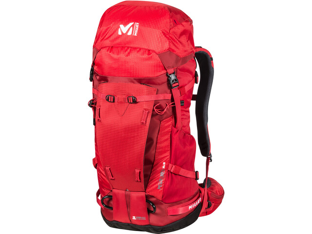 Millet Peuterey Integrale 35+10 rugzak Heren, red-rouge